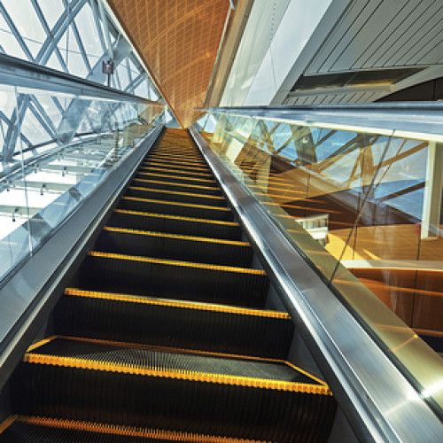 A Look Back…Toronto's First Escalator