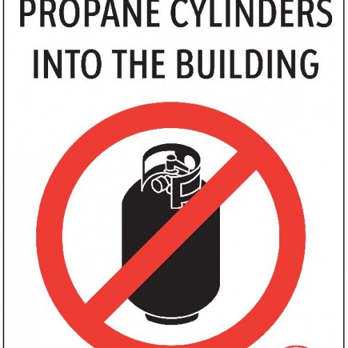 Signage Requirements for Propane Cylinder Exchange Facilities