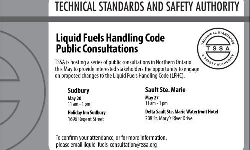 TSSA to Convene Liquid Fuels Handling Code Public Consultations