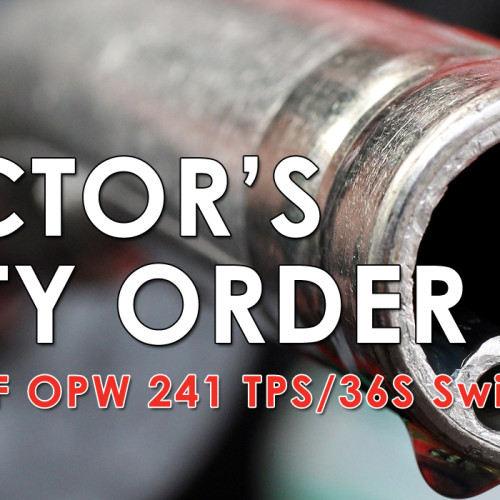 Fuels Director's Safety Order – OPW 241/36S Swivels